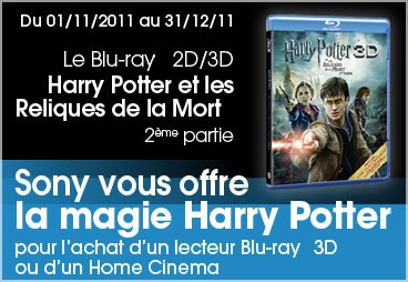 1 Home Cinéma ou Lecteur Blu-ray 3D Sony Acheté = Blu-ray ...  1 Home Cinéma ...